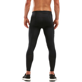 2XU Run Dash Compression Tights Men black/denim reflective